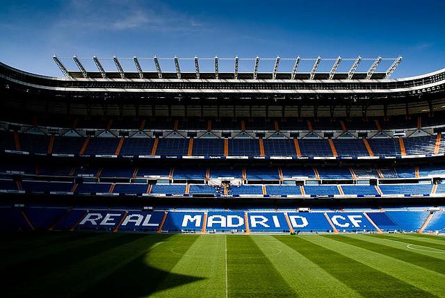 stadio Santiago Bernabeu Real Madrid