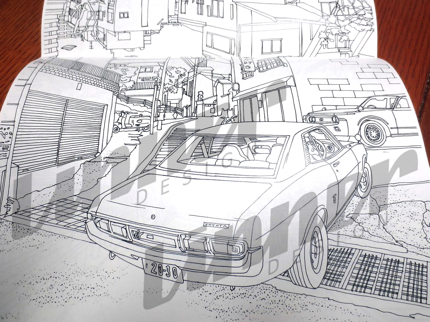 In The Enduring Memory Of Some Japans Most Compelling Cars Japanese Classic Coloring Book