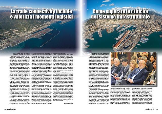APRILE PAG. 18 - La trade connectivity include e valorizza i momenti logistici