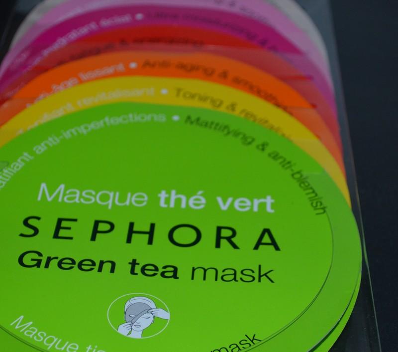 coffret de 7 masques en tissu Sephora