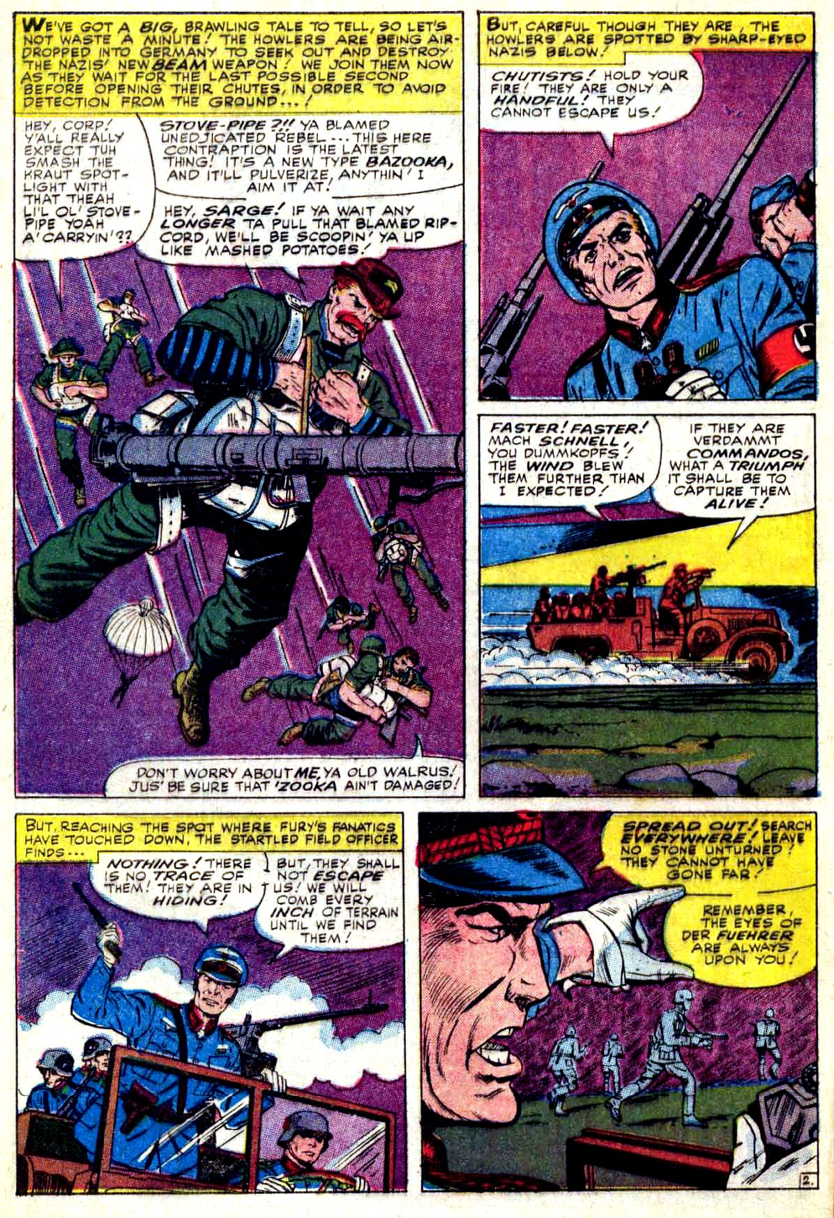 Read online Sgt. Fury comic -  Issue #27 - 4