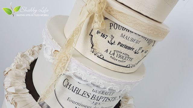 cappelliere stile shabby chic