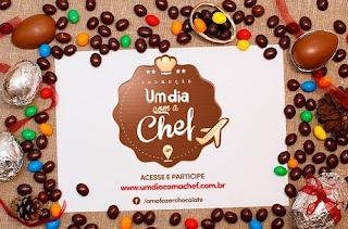 Participar promoção Selecta Chocolates Um dia com a chef