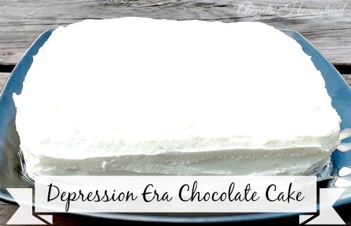 Home Sweet Homestead: Wacky Chocolate Cake