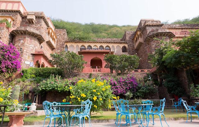 Stay at Neemrana Fort Palace