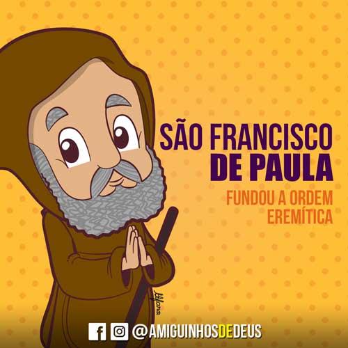 São Francisco de Paula desenho