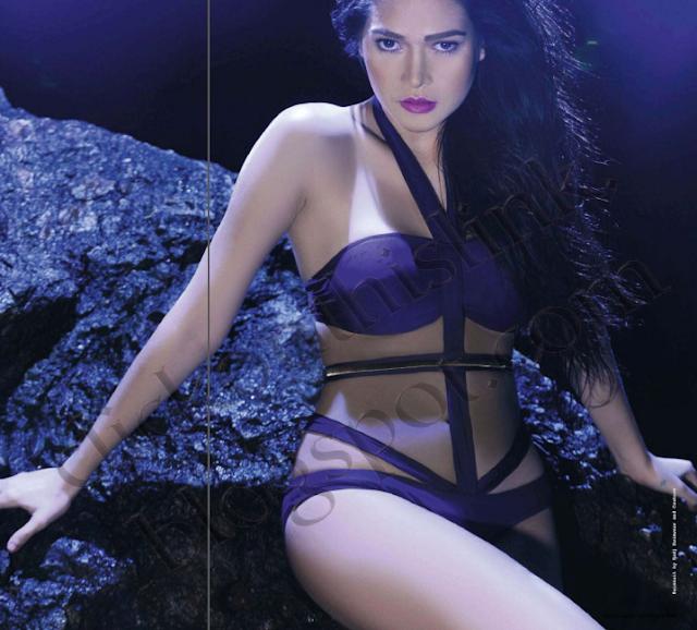 Click On Sexy Photos Of Bela Padilla Inside Fhm -4032