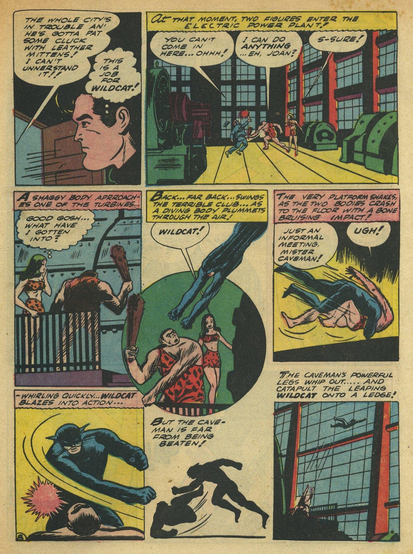 Read online Sensation (Mystery) Comics comic -  Issue #10 - 63