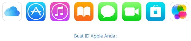 daftar akun apple id