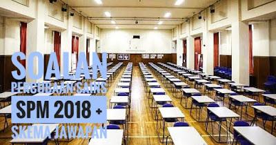 Soalan Percubaan Sains SPM 2018 + Skema Jawapan