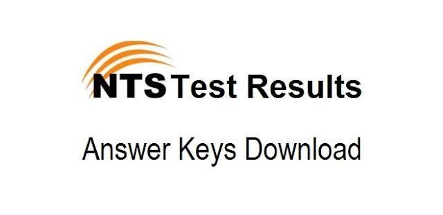 NTS Result and Answer Keys 2019 Online Check by Roll No, Name and CNIC Wise - Download from nts.org.pk