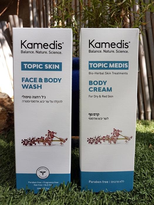 טיפול באטופיק דרמטיטיס עם מוצרי Topic של קמדיס