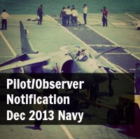 Indian Navy Pilot/Observer Dec 2013 Notification