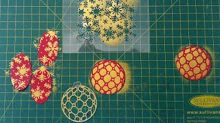 #thecraftythinker  #stampinup  #christmascard  #makeyourownstencil  #makeyourownmask  #cardmaking , make your own stencil/mask, Christmas card, Blizzard, Detailed Baubles, Stampin' Up Demonstrator, Stephanie Fischer, Sydney NSW