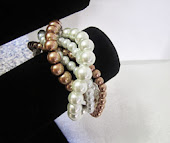 A Twisted, Multi-strand Pearl Bracelet