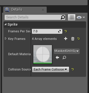Flipbook Collision Source