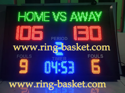 jual papan skor basket digital