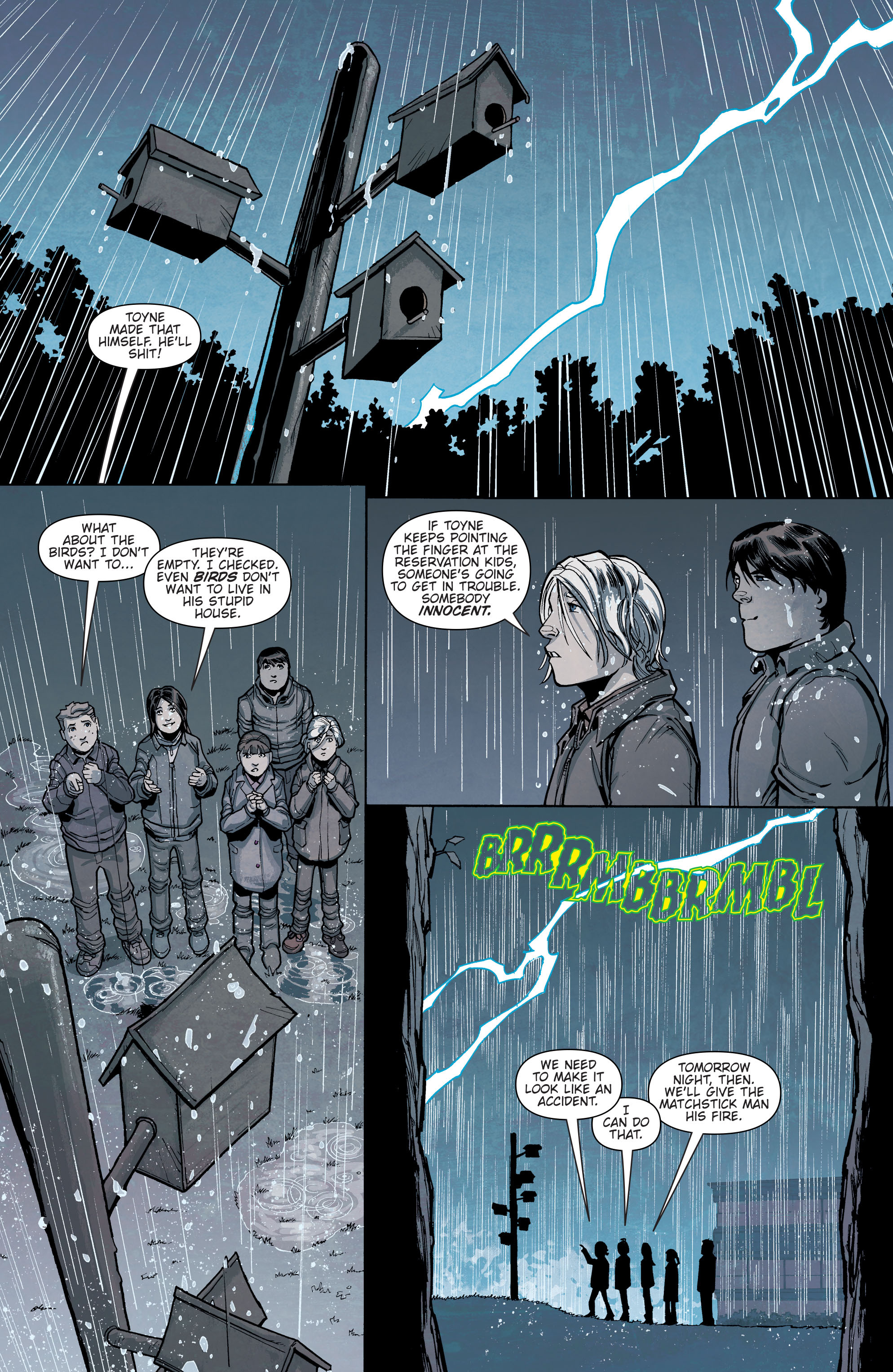 Read online Slash & Burn comic -  Issue #3 - 6