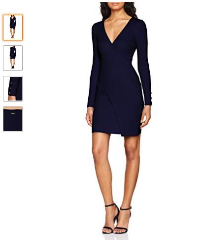 Robe femme élégante tendance mode hiver 2018 2019 pas cher marque Morgan (  existe dans f07e8a98eaa4