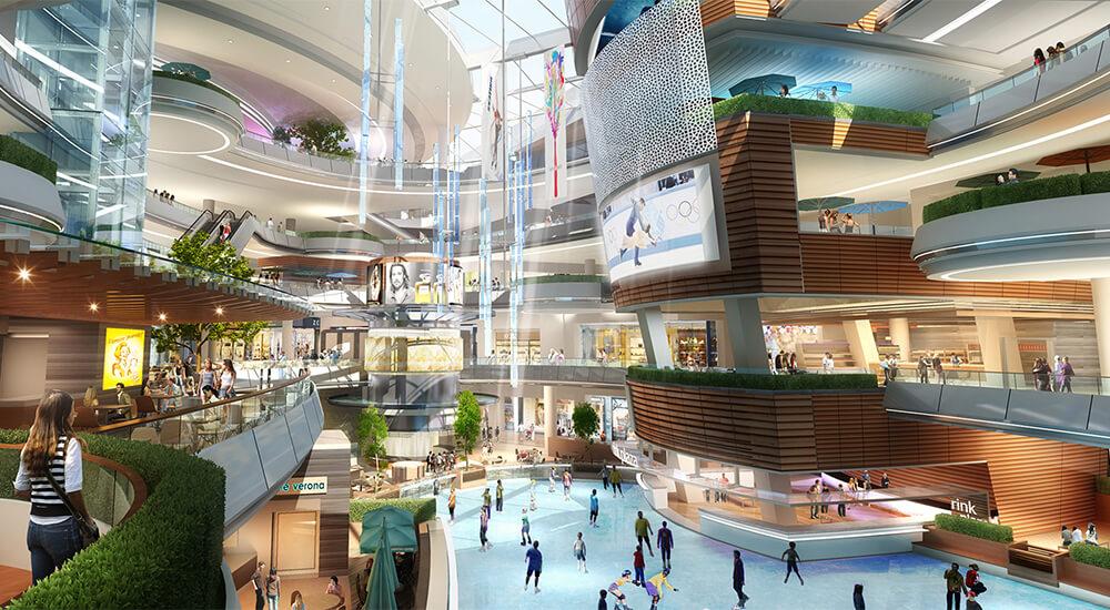 Trung tâm thương mại Simco Xuân Đỉnh.