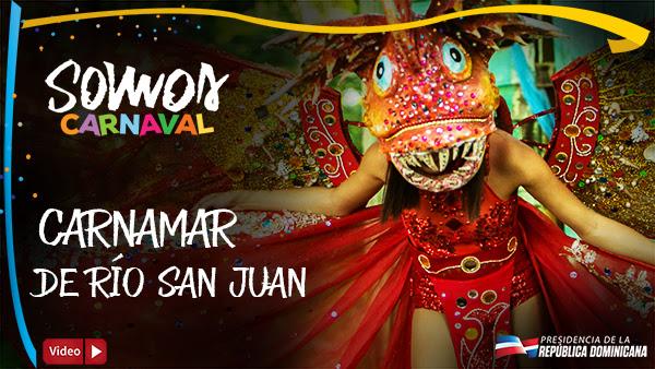 VIDEO: Carnamar de Río San Juan. Somos Carnaval