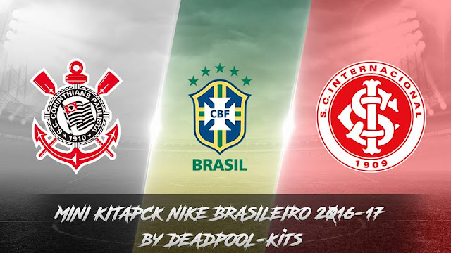 PES 2013 Mini Kitpack Nike Brasileiro 2016-17 by DEADPOOL-Kits