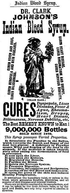 Dr. Clark Johnson's Indian Blood Syrup