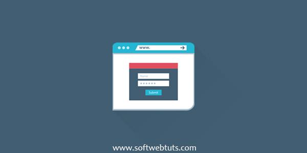 Registration Form - Login Form Marketing Style