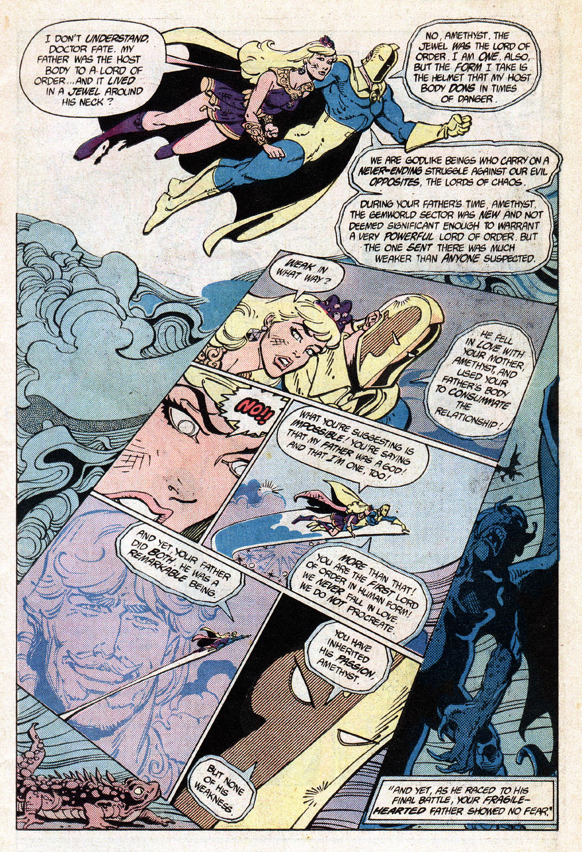 Read online Amethyst (1985) comic -  Issue #13 - 11
