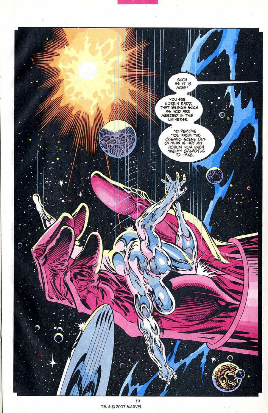 Read online Silver Surfer (1987) comic -  Issue #102 - 21