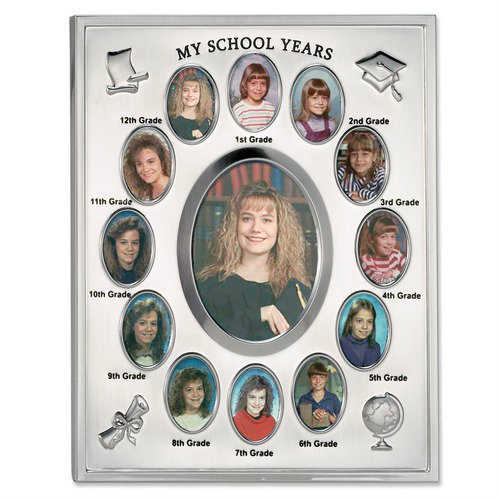 I Have Been Wanting To Make A School Years Collage Frame Because When Was Growing Up My Mom Put Together All Of Our Pictures In Mat And
