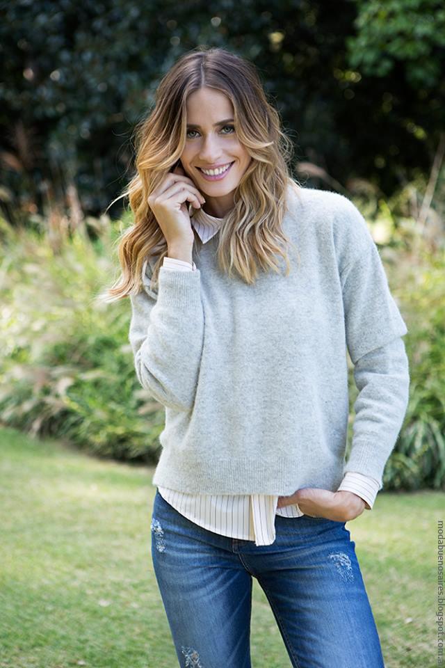 Sweaters invierno 2016 ropa de moda. Milana Sweaters invierno 2016.