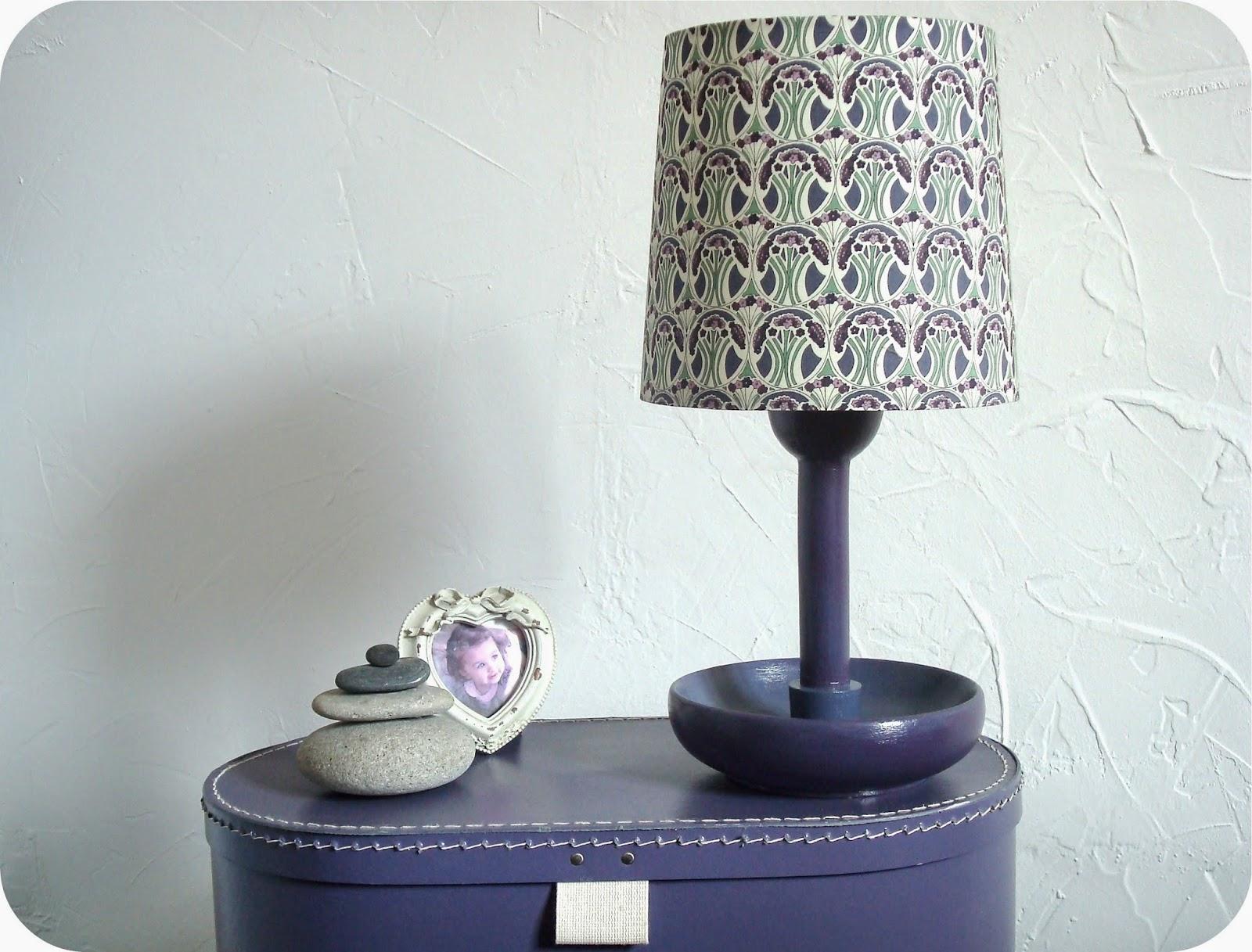 tadaam lampe liberty r aliser un abat jour. Black Bedroom Furniture Sets. Home Design Ideas