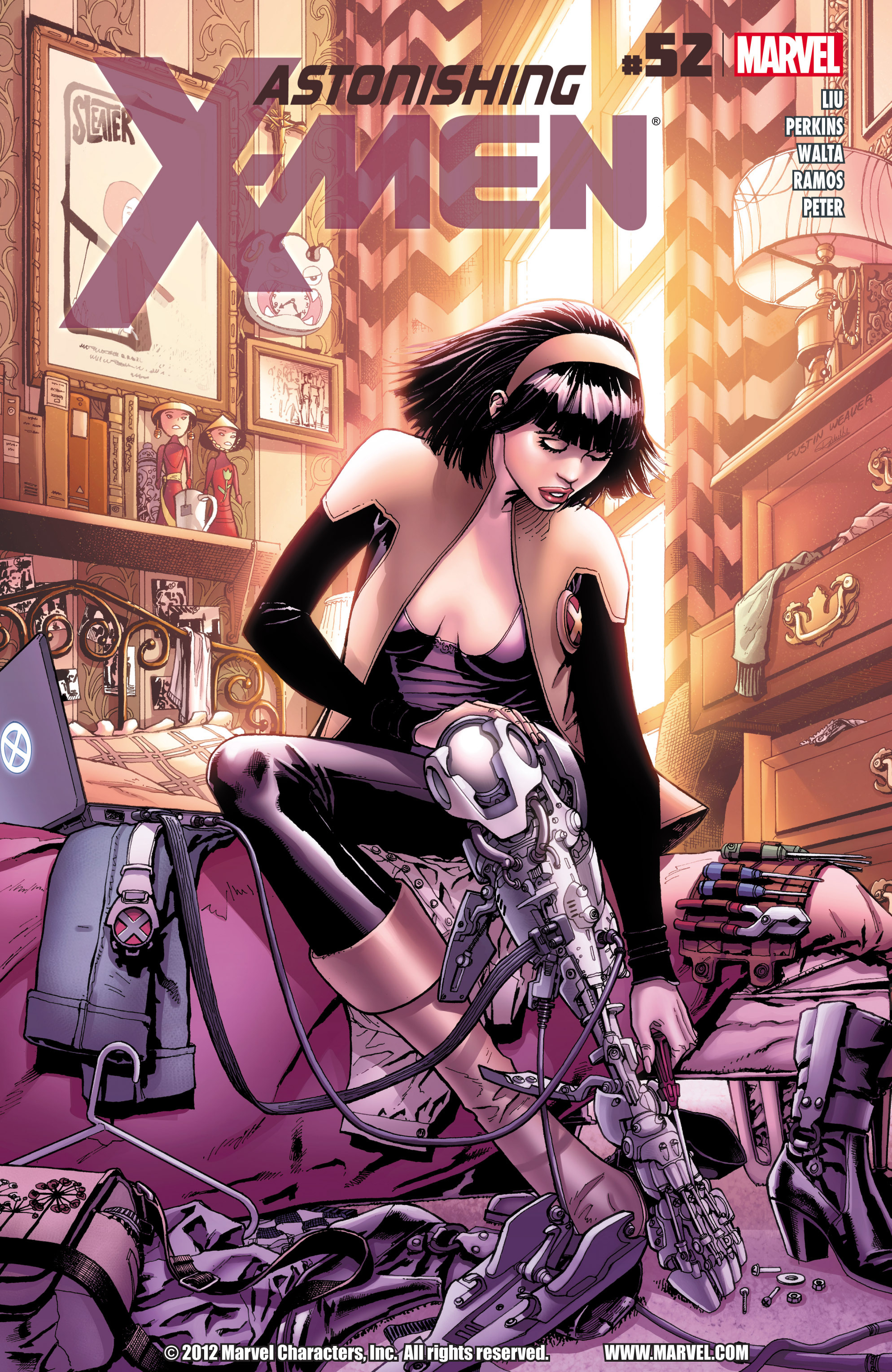 Read online Astonishing X-Men (2004) comic -  Issue #52 - 1