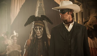 Armie Hammer Johnny Depp as The Lone Ranger Tonto