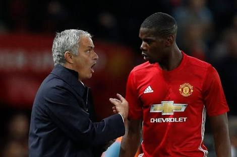 Pogba's exit rumors are lies-Jose Mourinho