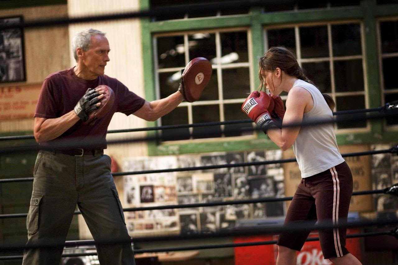 million dollar baby-clint eastwood-hilary swank
