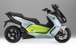 BMW C Evolution European (2017) Side