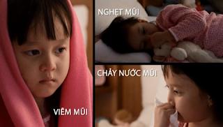 Cách phát hiện viêm xoang ở trẻ em