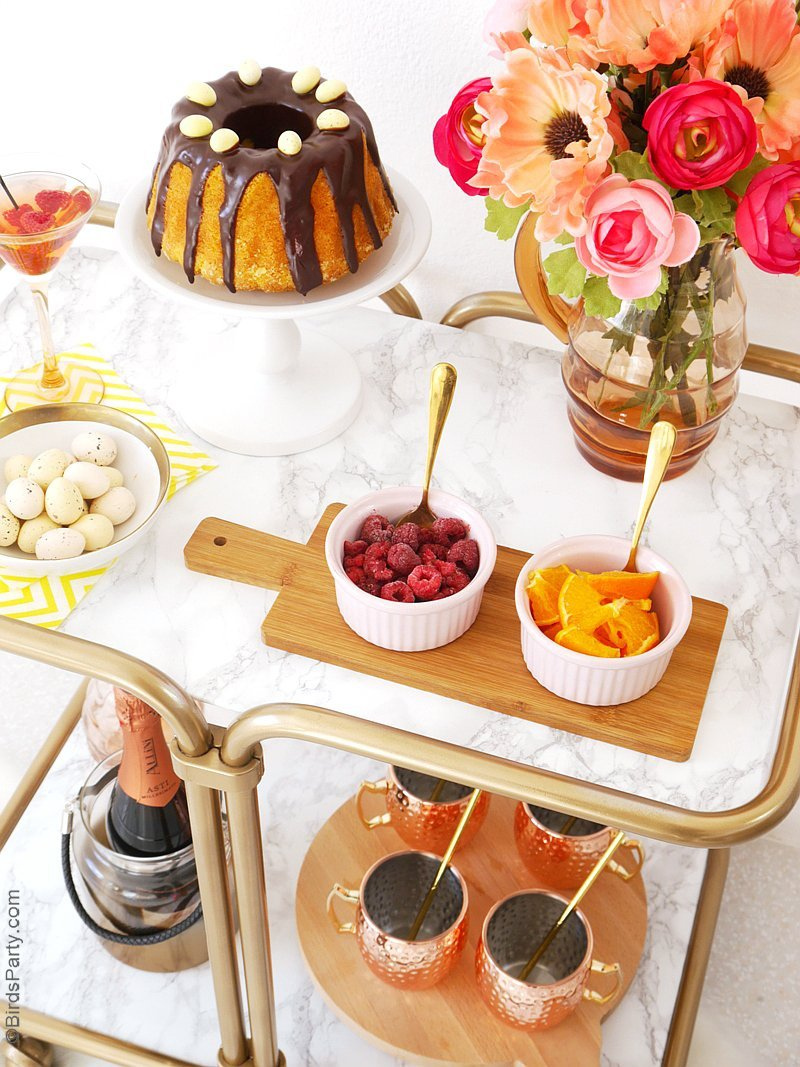 A Modern Floral Easter Brunch