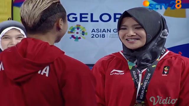 Wow! Atlet Pencak Silat Hanifan Lamar Kekasih Saat Live di TV, Dibalas Tendangan