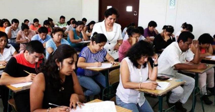 De 123 mil profesores, más de 25 mil lograron ascenso en concurso nacional del MINEDU