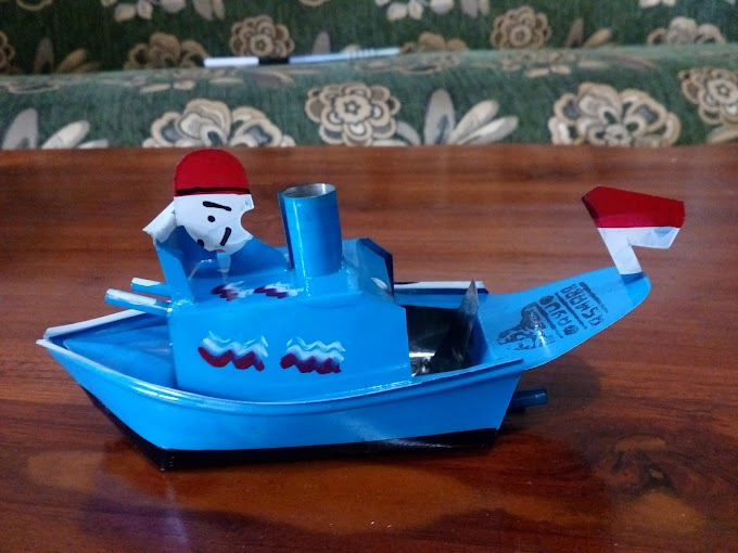 Indonesian Traditional Toys, Navy Steamship
