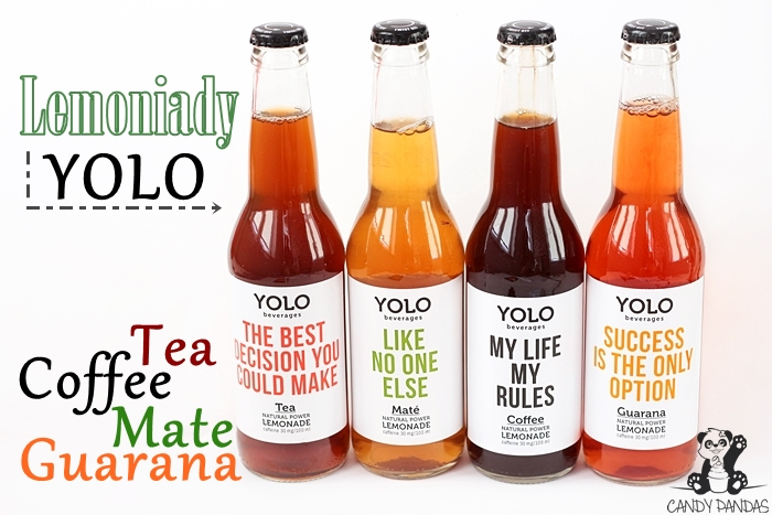 Lemoniady Yolo Tea, Coffee, Guarana, Mate