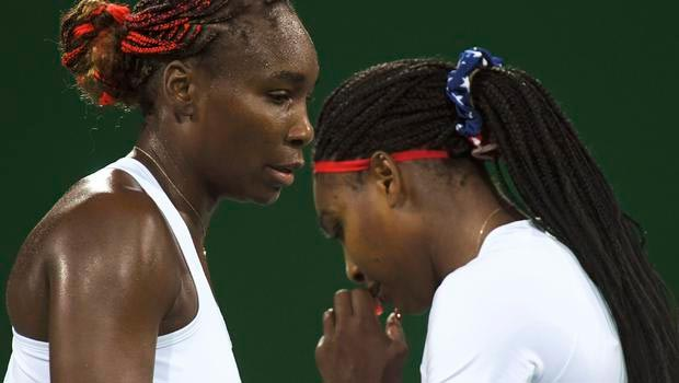 [Rio 2016 Olympics] Reigning champions Venus & Serena Williams defeated in women's group tennis