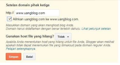 Redirect Domain Non www ke www