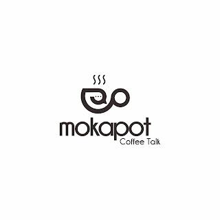 Mokapot Coffee Talk Logo Design