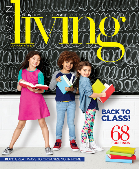 AVON LIVING CATALOG. ONLINE! SHOP YOUR BACK TO CLASS CATALOG!