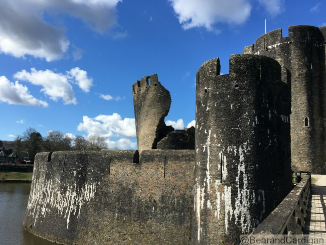 would-we-dare-to-meet-the-dragon-at-Caerphilly-Castle-with-leaning-tower
