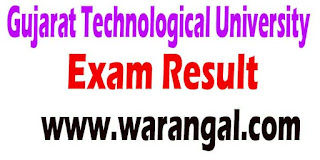 Gujarat Technological University ME Sem IV Regular 2016 Exam Result